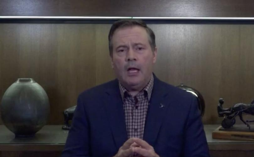 Alberta Premier and Secret Freemason Jason Kenney misrepresents the Constitution & Bible in speech claiming pastors violated 'biblical mandate' by breaking lockdown rules
