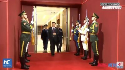 LEAKED: Canadian military ordered to salute China President Xi Jinping, alongside North Korea (VIDEO)
