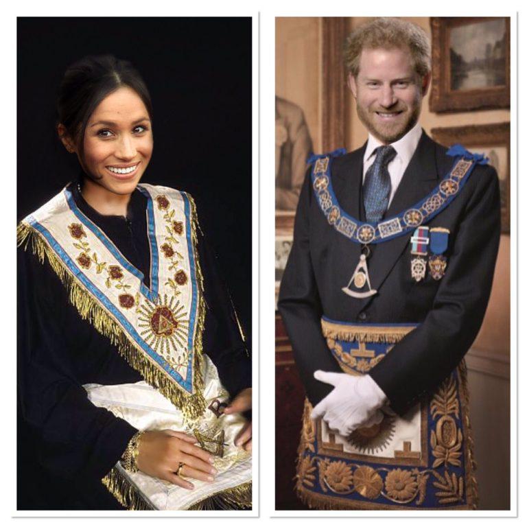 Updated: UK Freemason Posts Photo of Prince Harry wearing Masonic Garb on Twitter on Royal Wedding Day