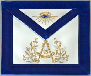 Eye in the Masonic Apron