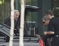 David Rockefeller arrives at Bilderberg, June 6 2006, Brookstreet Hotel, Ottawa, Canada