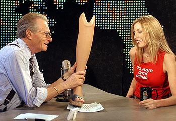 Larry King & Heather Mills