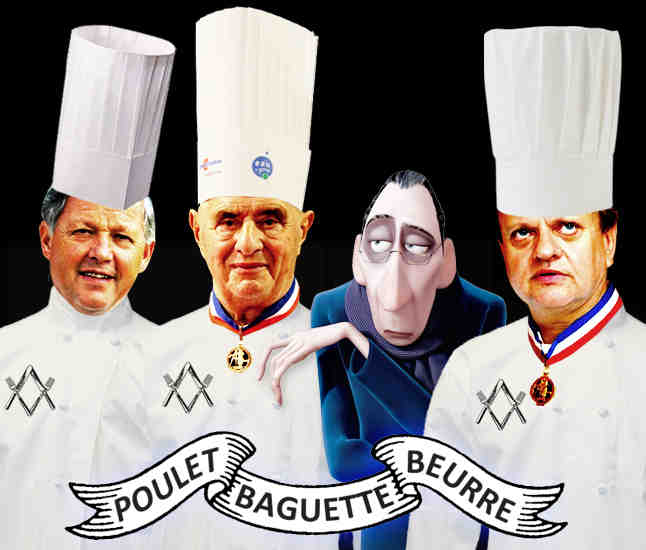 French Chefs Conspiracy Freemason